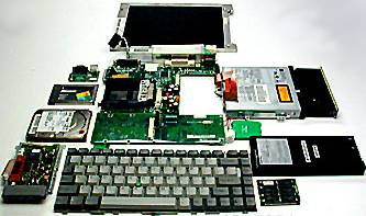 Computer Laptop Hardware Repair - Parts Ready for Repairs